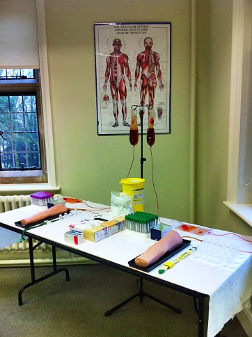 Phlebotomy preparation